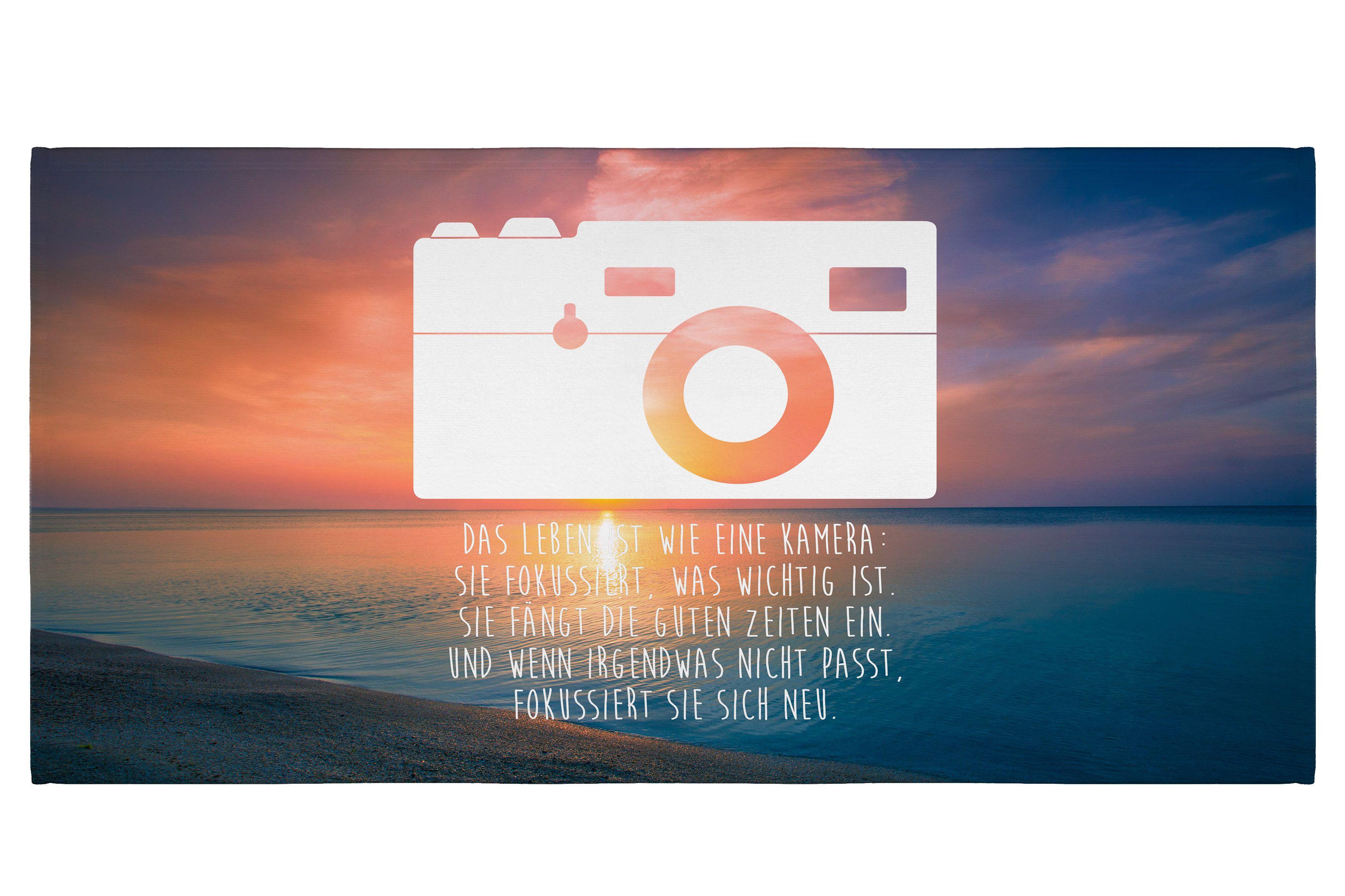 50 x 100 Handtuch Kamera aus Kunstfaser Natur - Das Original von Mr ...