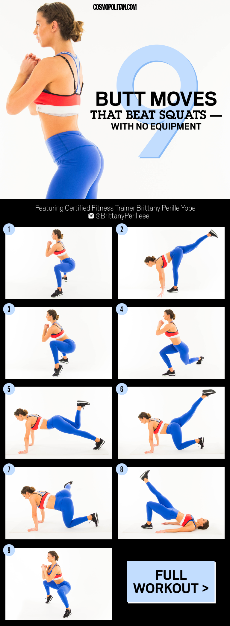 9 Non-Boring Butt Exercises If Youre Out Here Doing The -8487
