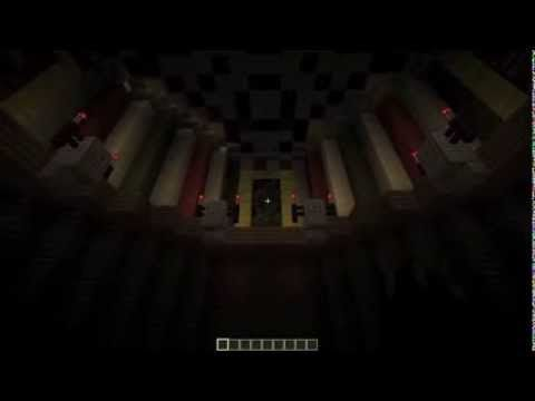 The Haunted Mansion Ride in Minecraft