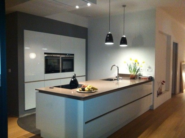 1000 images about cuisine on pinterest cabinets modern kitchens and search - Cuisine Blanc Chene