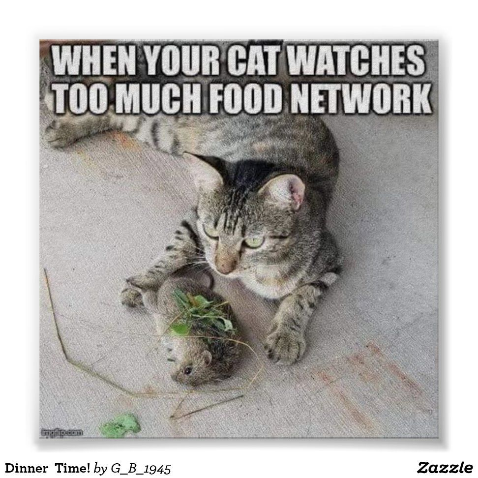 Dinner  Time! Poster | Zazzle.com