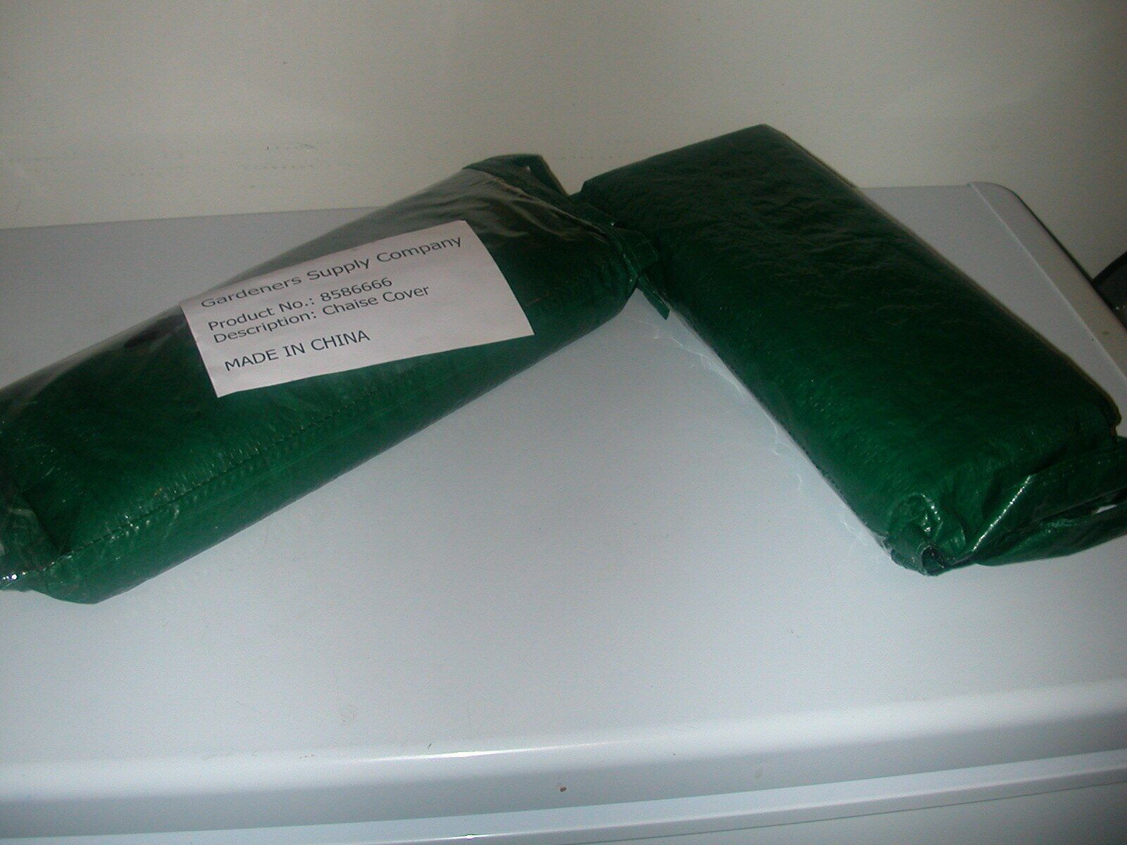 New Two Gardener S Supply Green Chaise Covers Garden Supplies