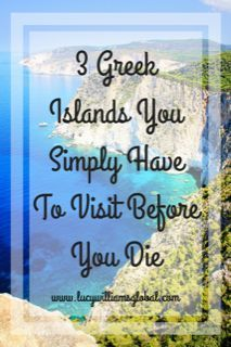 3 Greek Islands You Simply Have To Visit Before You Die #visitgreece