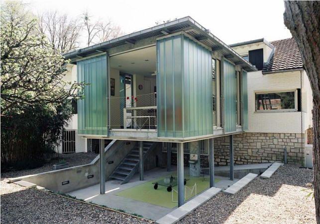 Maison Métal - La Maison À Ossature Métallique | Zz_House