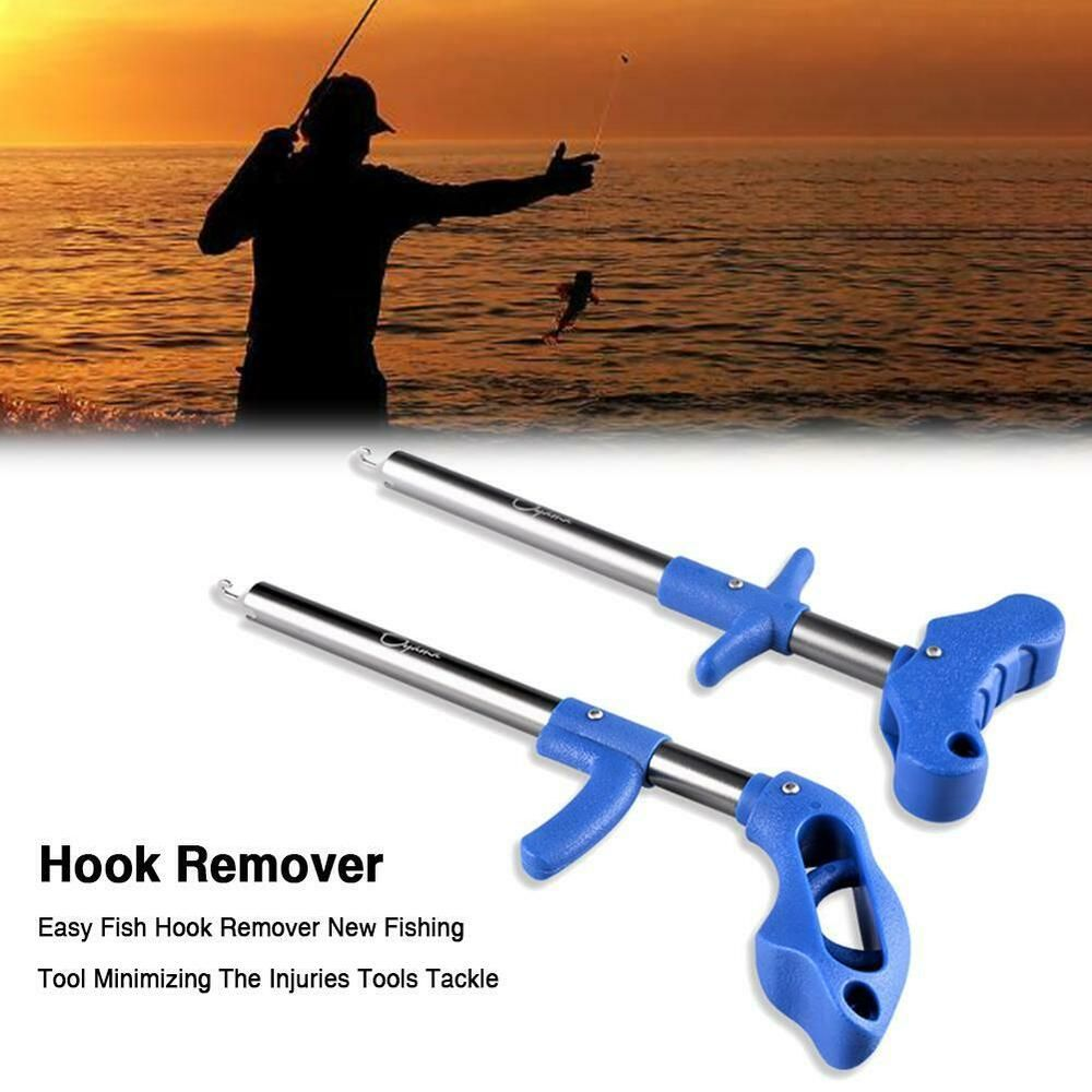 Easy Fish Hook Remover New Fishing Tool Minimizing The Injuries Tools Tackle //EN