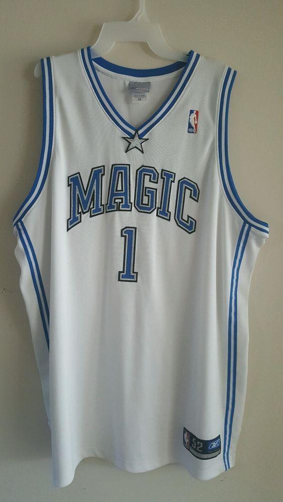 Vintage NWT Reebok Authentic Orlando Magic Tracy McGrady jersey