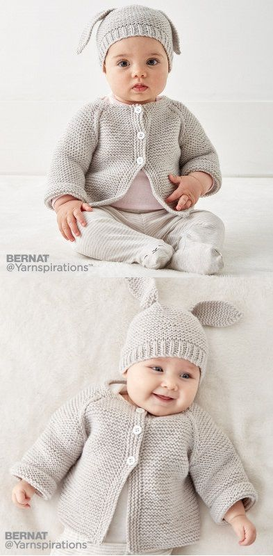 Free Knitting Pattern for Baby Cardigans | Crochet and knitting ...