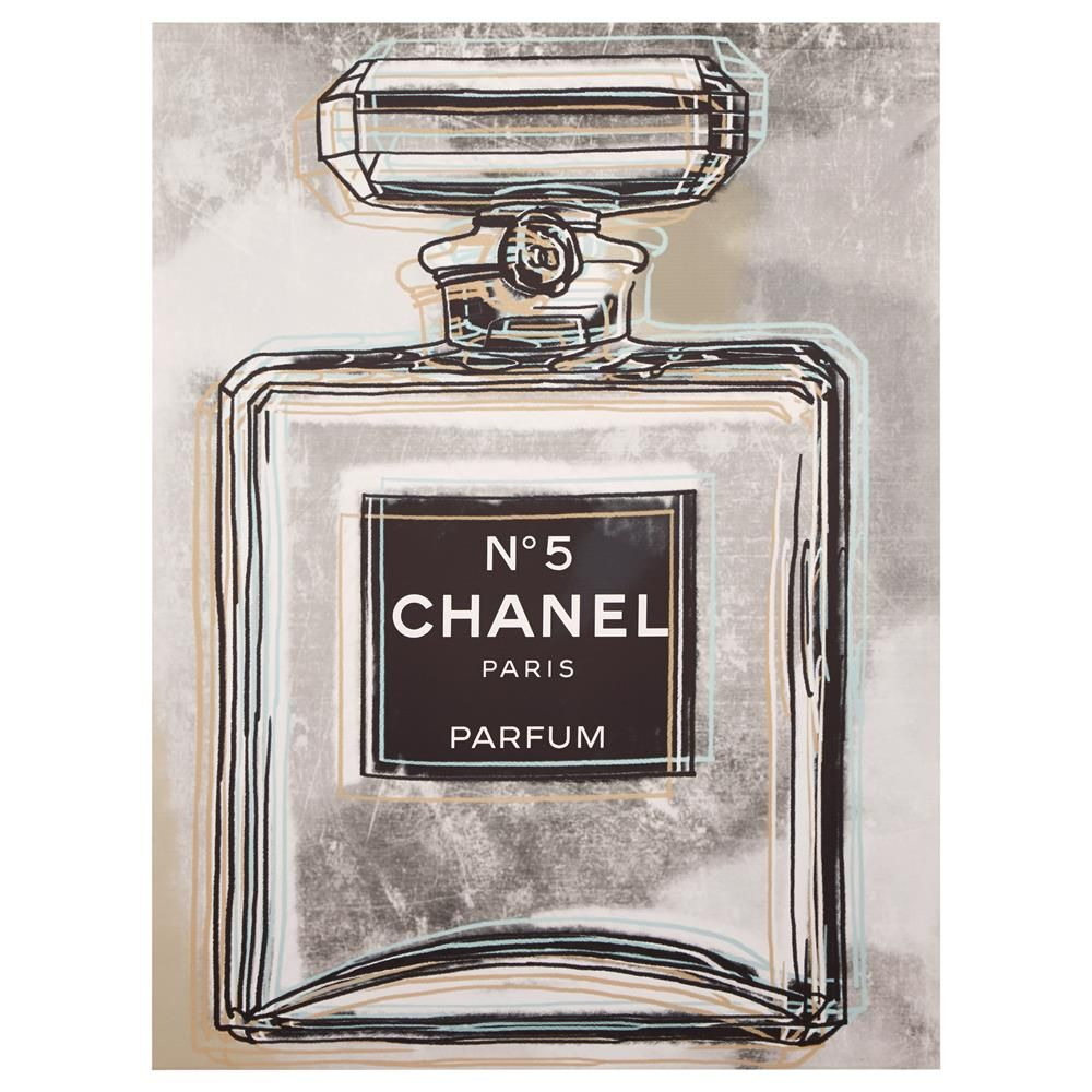 Canvas - Chanel Perfume/Canvas + Framed Art/Wall Decor ...