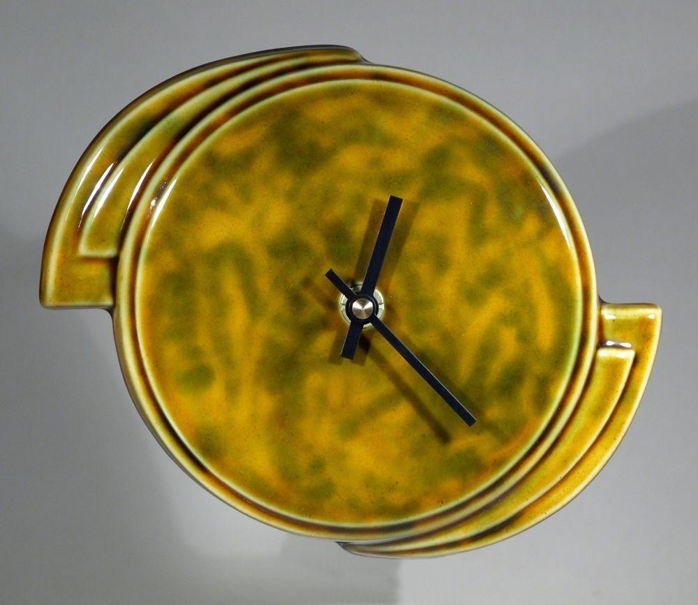 Echo Of Deco Art Deco Inspired Ceramic Landspeed Wall Clock - HALF ...
