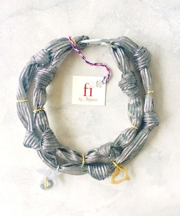 Textile Jewelry : ????UNIQUE JEWELERY FROM MONTENEGRO #ogrlica#jewelry#rope#nacklaces#newyearpresent#necklaceaddict#handmade#art#elegant#jewelrymaking#jewelryforsale#montenegro#new#summer#collana#fashion#fashionblogger#jewelrydesigner#jewelryoftheday#unique#madeinmontenegro#streetstyle#trendy#collar#collier#????????#halskette#??#????? #fi_by_tatjana #Textile #Jewelry