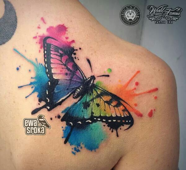 pin de laura en tatuajes pinterest tatuajes mariposas y tatuajes en acuarela. Black Bedroom Furniture Sets. Home Design Ideas