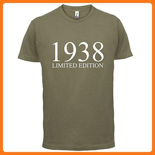 1938 Limierte Auflage / Limited Edition - 79. Geburtstag - Herren T-Shirt -