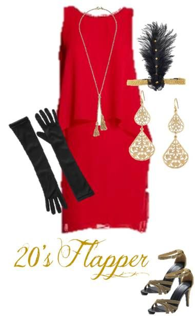 20s Flapper: Use Our Ideas To Raid Your Favorite Closet And Put Together  The Perfect