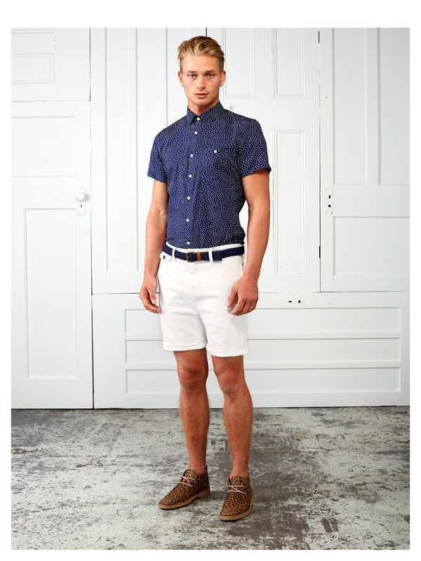 How to Wear White Shorts (71 looks) | Men's Fashion | White Shorts ...