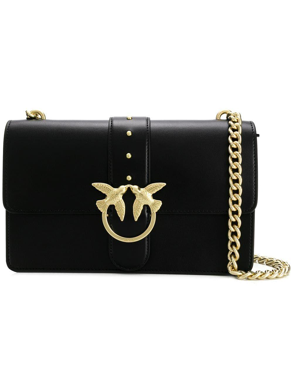 d394285b36a Pinko Simply crossbody bag - Black in 2019   Products   Crossbody ...