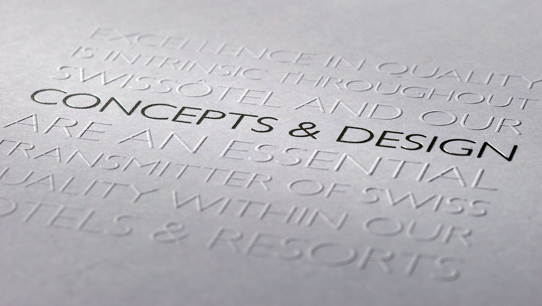 Embossing | Warren Creative, Branding Agency, Sussex