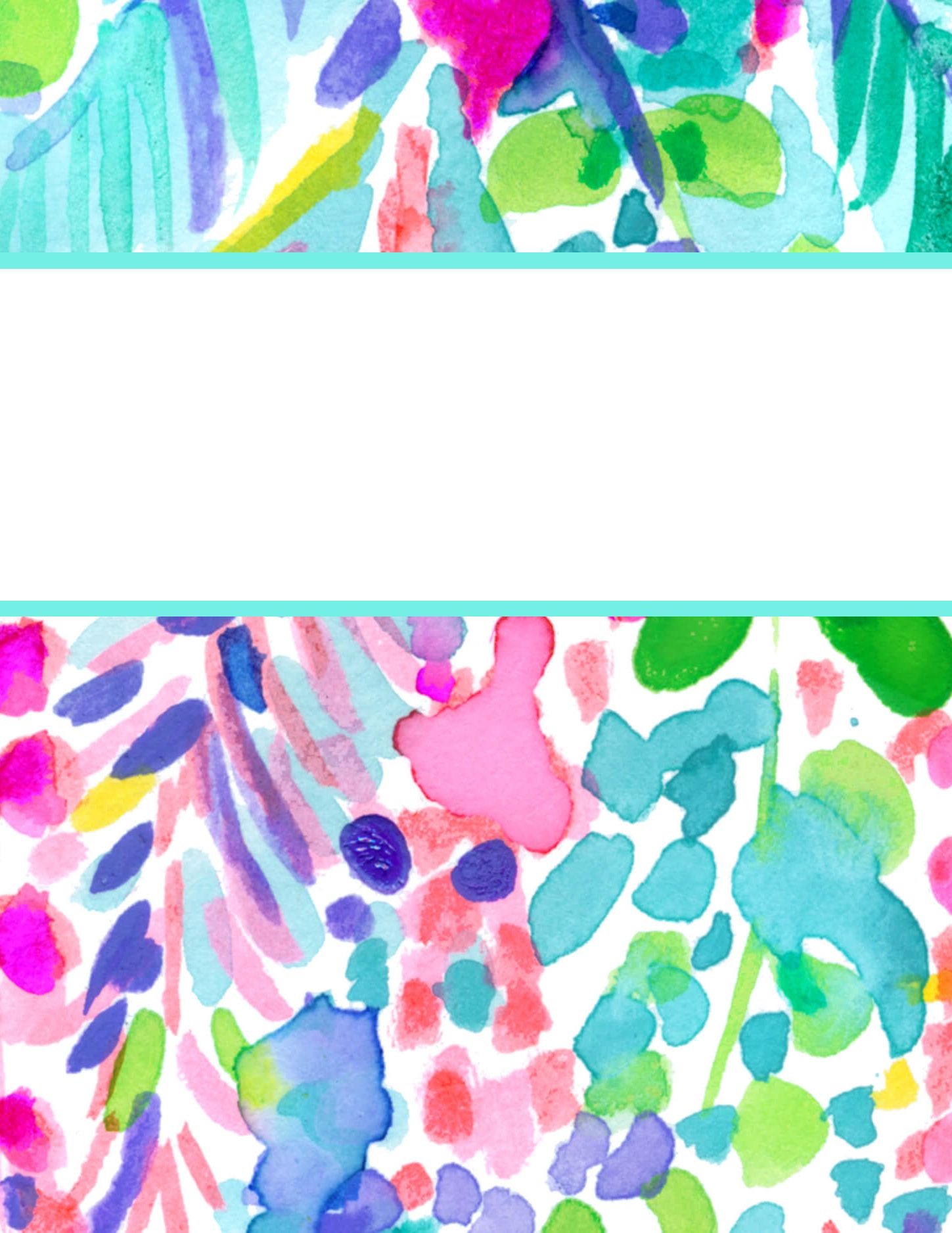Mesmerizing image in lilly pulitzer printable binder covers