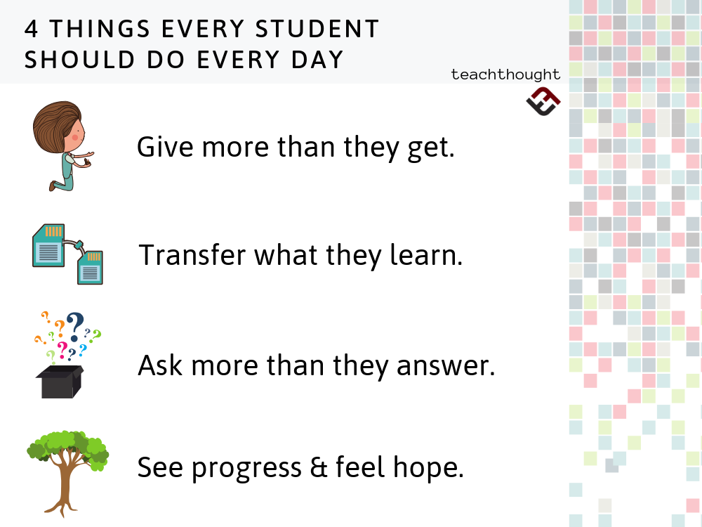 4 Things Every Student Should Do Every Day In 2020 Teaching Life