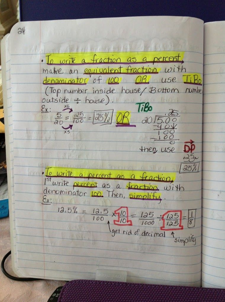 Google+ Math interactive notebook, Learning math