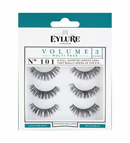 4aaecfe98af Eylure Strip Lashes No.101 (Volume) Multipack Pk Of 3 | Eylure ...