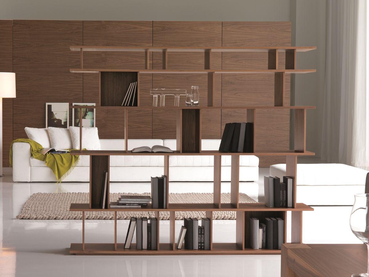 Cattelan Italia Stand Regal Loft Nussbaum Kaufen Im Borono Online Shop Haus Inneneinrichtung Italienische Designermobel