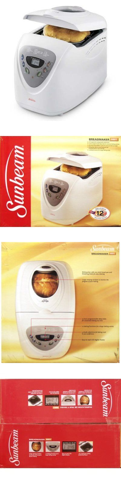 Sunbeam Programmable Breadmaker 5891 W Bread Machine Bread Maker Sunbeam
