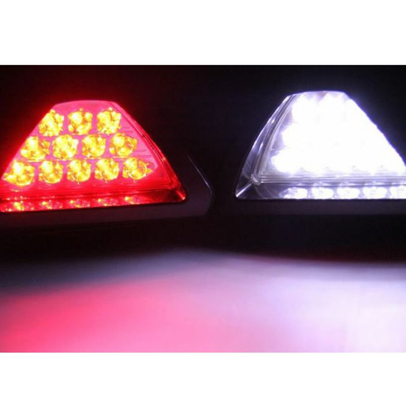 $5.29 (Buy here: http://appdeal.ru/3zi4 ) Free Shipping Super White Red F1 Style ATV SUV 12V Car Styling Light Parking Auto LED Car lamp Brake Light Red/White Wholesale for just $5.29