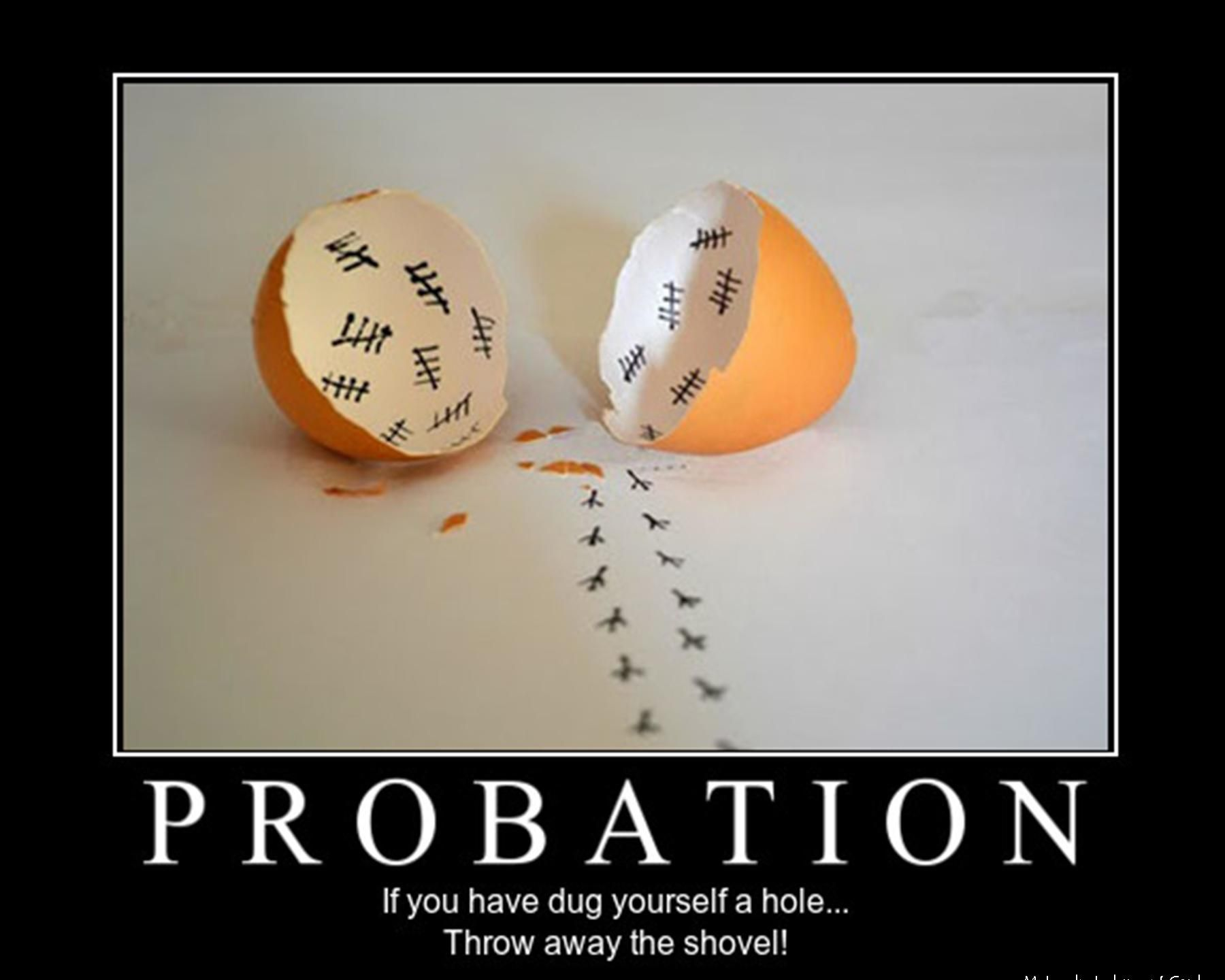 Probation (With images) Probation officer, Workplace humor