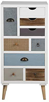AC Design Furniture Cassettiera suwen Multicolori cassetti ...