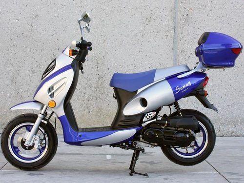 NEW Sunny Powersports MCD150E BLUE Gas Metro 150cc Moped  500 x 375 jpeg a542edcca43f759752b227c588609c96.jpg