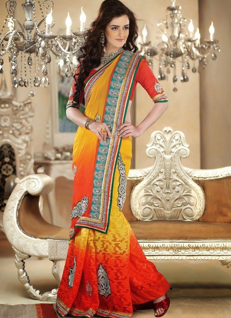 Wedding saree online shopping usa, Indian bridal wear sarees ...