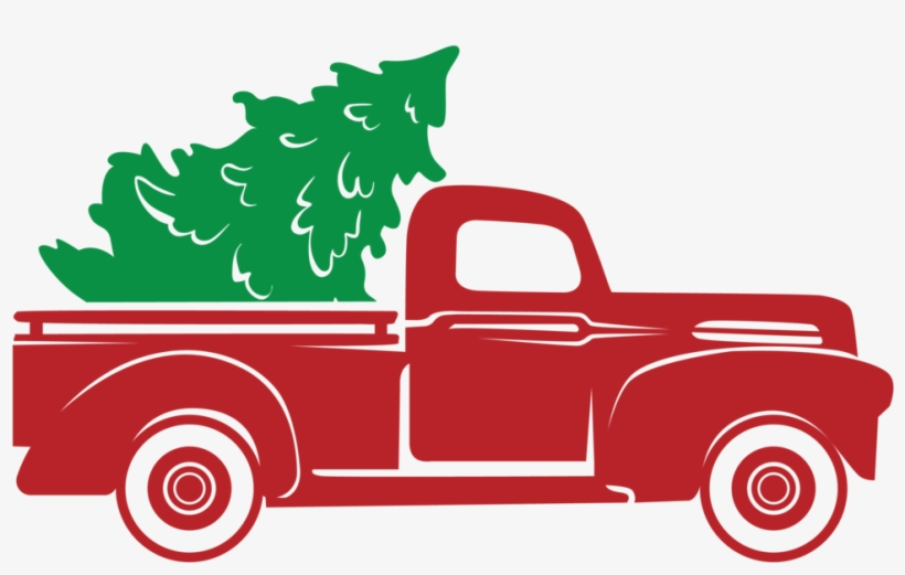 Red Truck Christmas Tree Stencil Only Christmas Truck Svg Free Christmas Tree Stencil Christmas Truck Tree Stencil