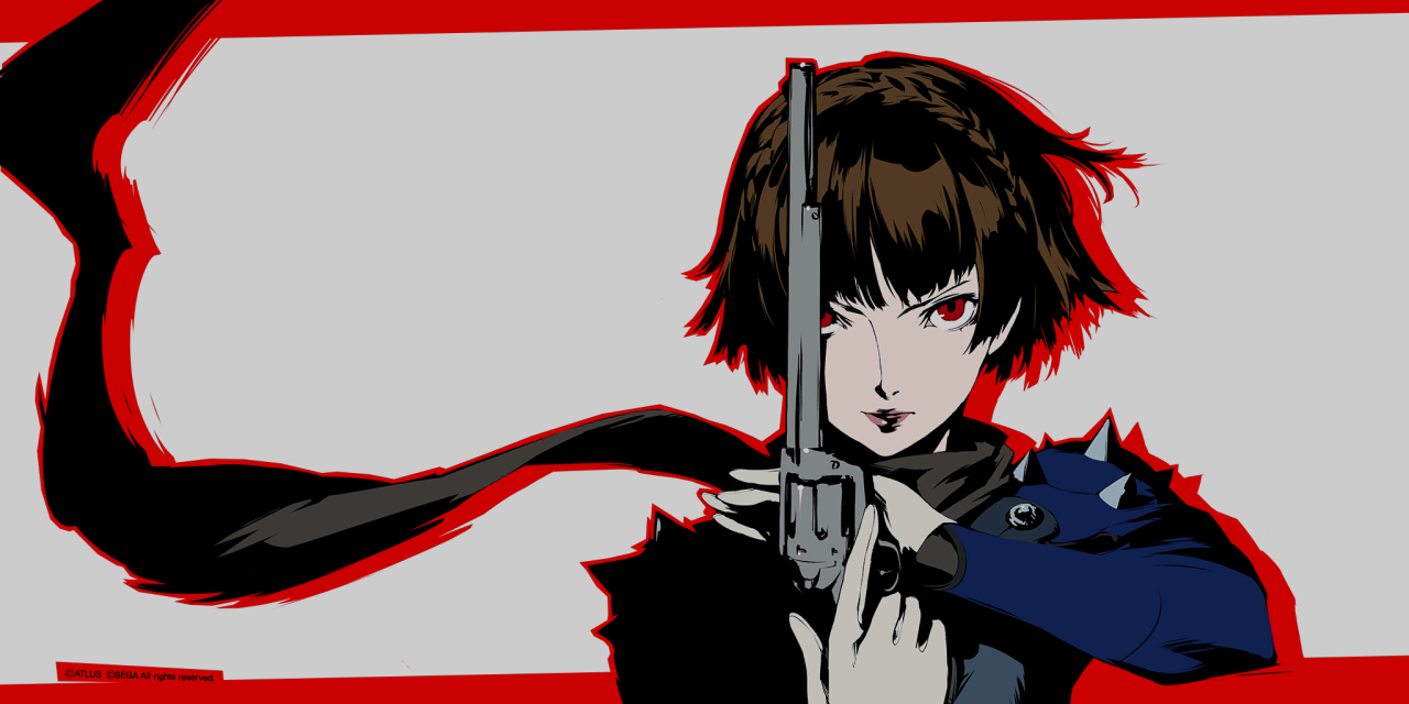 Facial Features Reference Combined With The Hair Ref Makoto P5 Makoto Makoto Niijima Persona 5