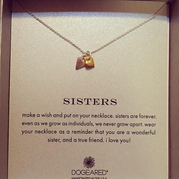 Dogeared reminder sisters pendant necklace nordstrom sisters dogeared reminder sisters pendant necklace nordstrom aloadofball Choice Image