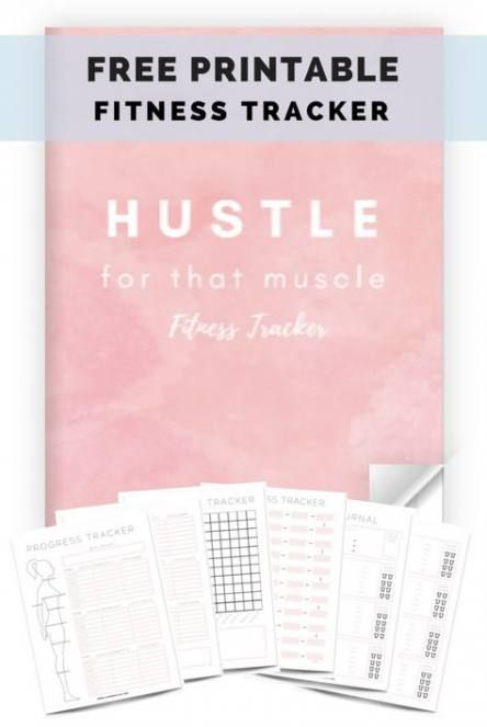 48+ trendy fitness tracker planner free printable #fitness