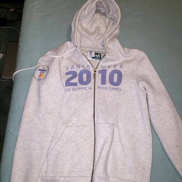 2010 olympic games zip up official vancouver 2010 winter games sweatshirt Jackets & Coats