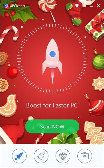 UPCleaner new christmas skin