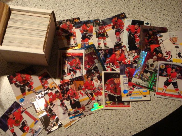 200 Different Chicago Blackhawks Hockey Cards FREE SHIPPING ...