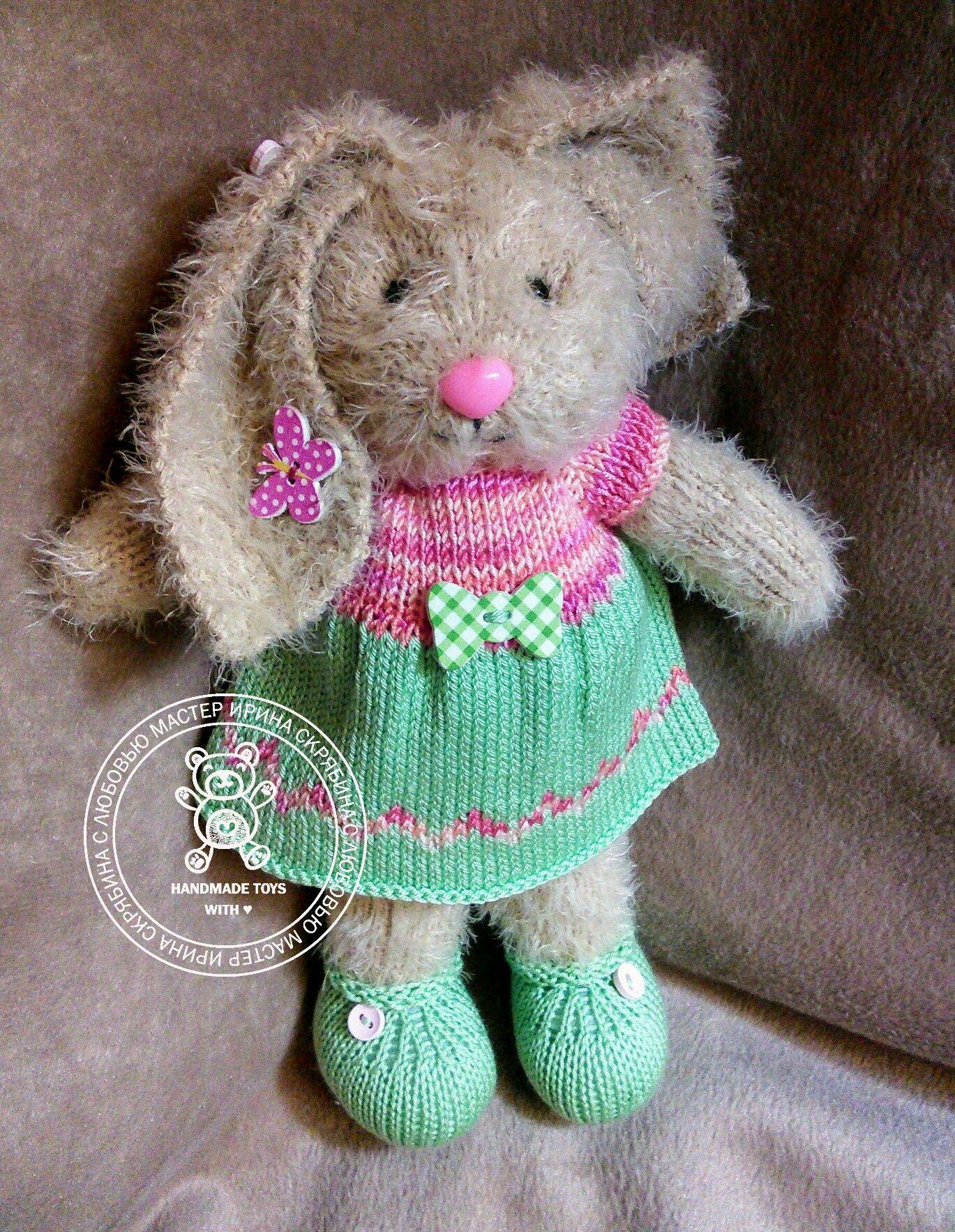 Pin by Tammy Marro on Knitted animals & dolls | Pinterest | Rabbit ...