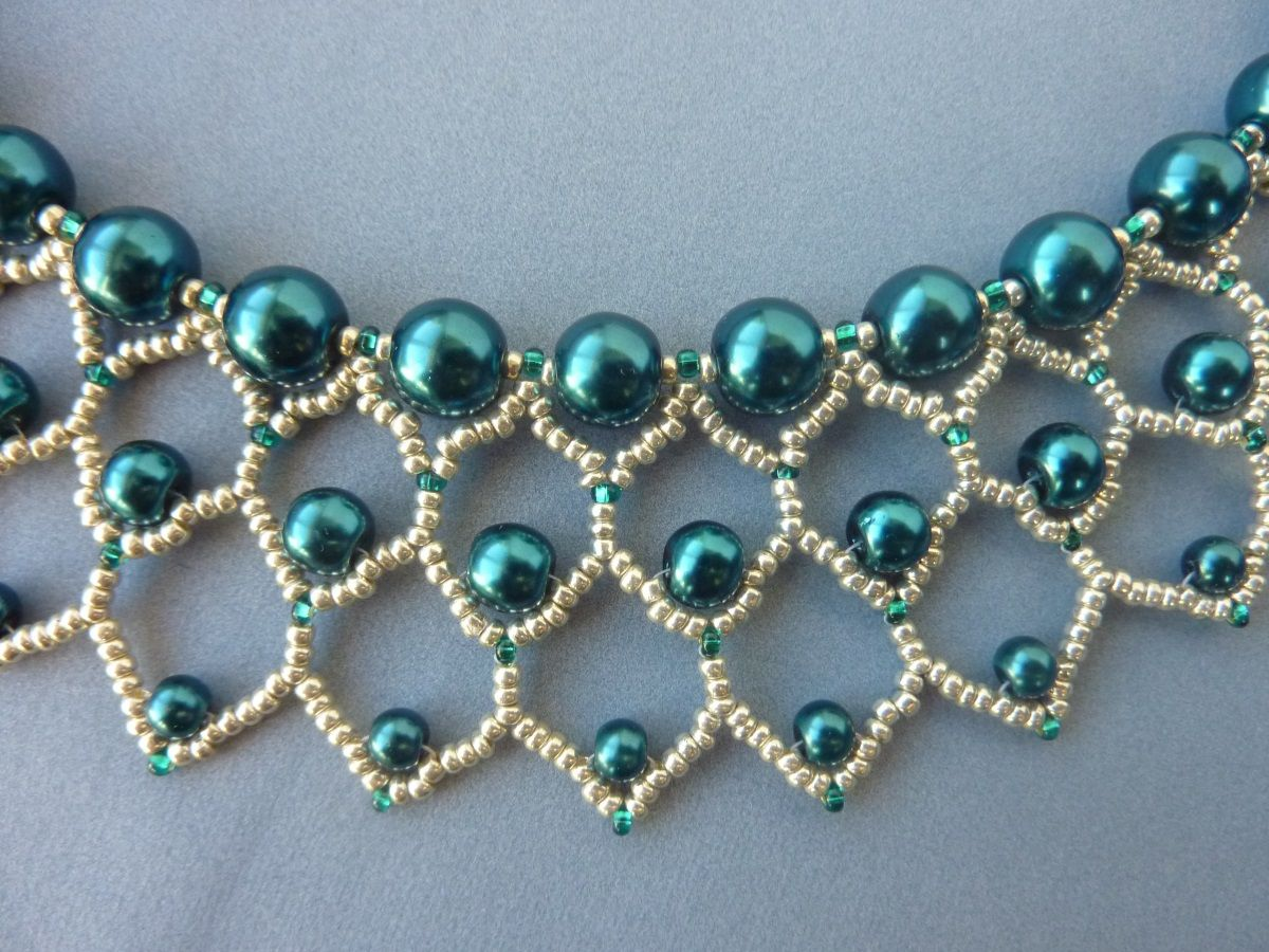 Diy Jewelry Free Beading Pattern For Lovely Pearl Petals