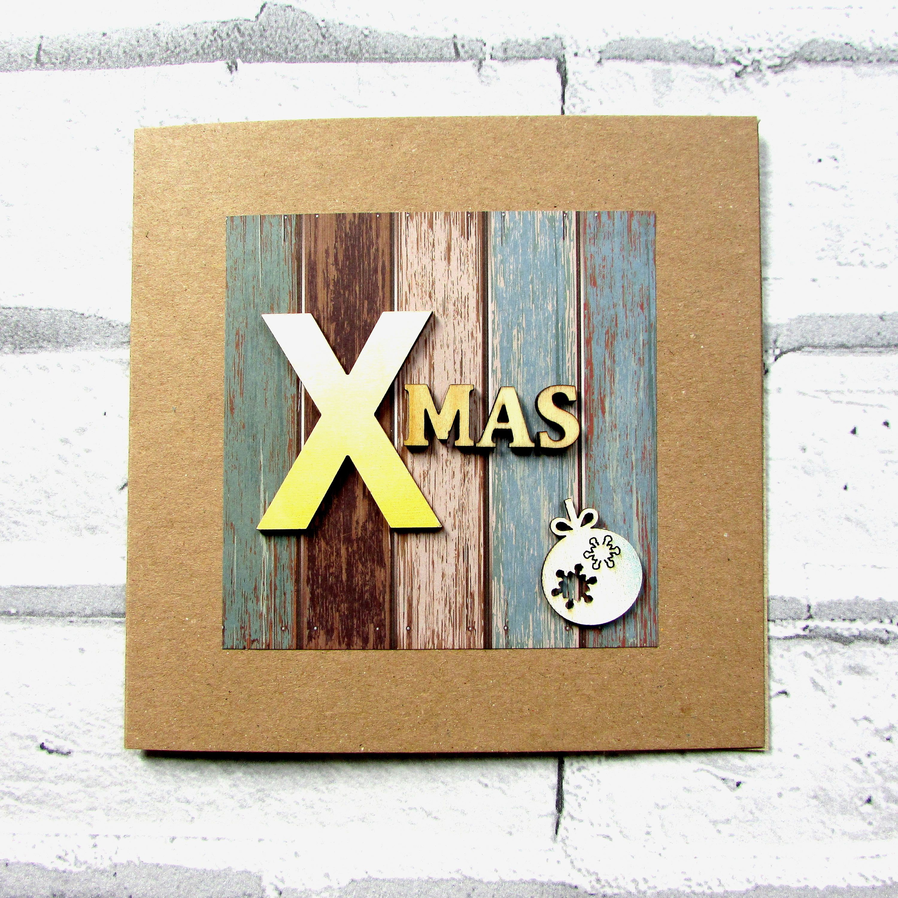 Funny holiday card, recycled, eco friendly, craft, Christmas ...