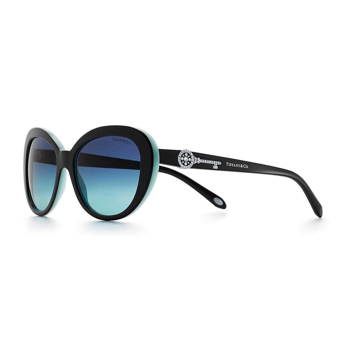 47ca40493ded Tiffany Keys Oval Sunglasses