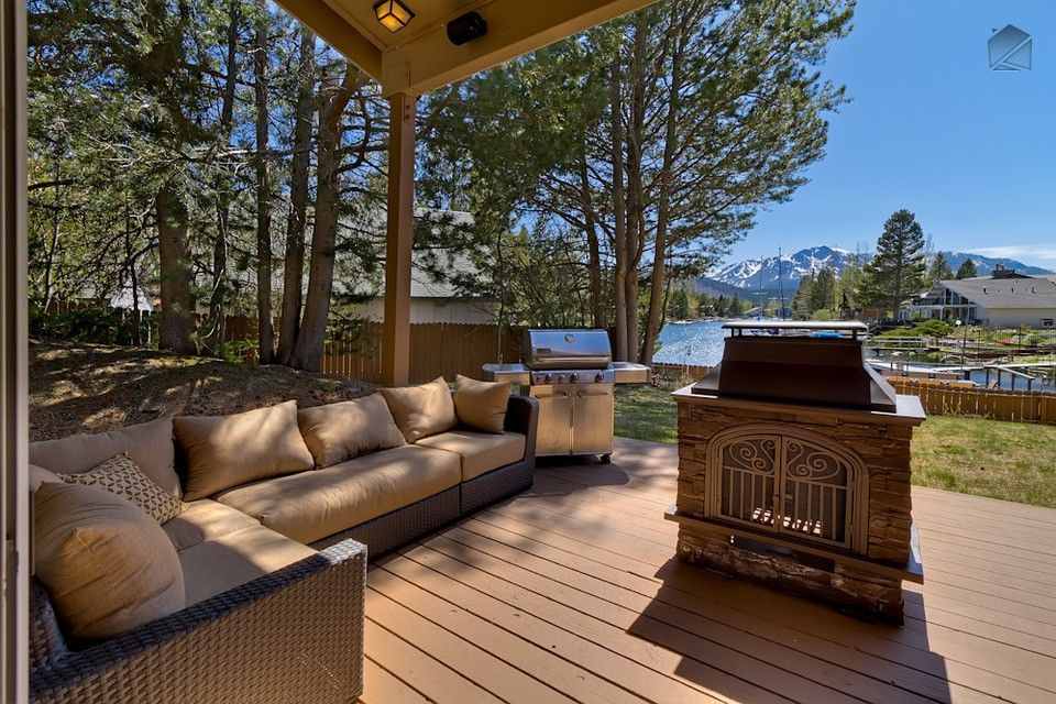 Marvelous Tahoe Keys House Rental: Waterfront Home With Private Boat Dock, Hot Tub  And Mountain Views: Luxury Tahoe Keys Home
