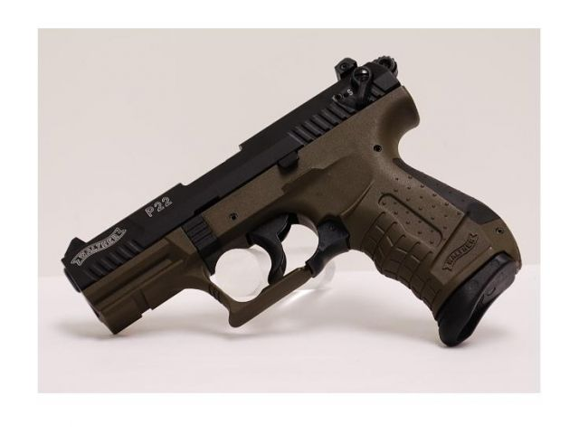 Walther P22 Military, .22 lrLoading that magazine is a pain! Get your Magazine speedloader today! http://www.amazon.com/shops/raeind