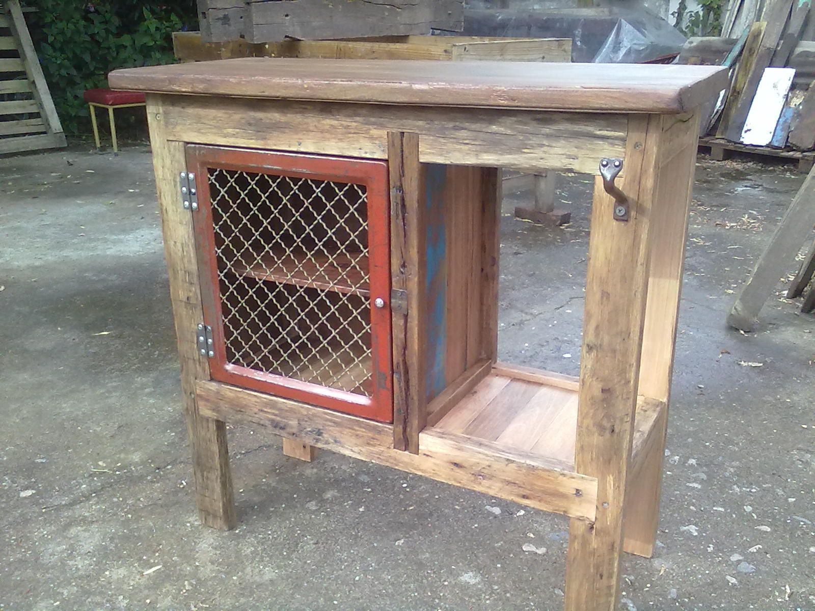mueble madera recuperada | Proyectos que intentar | Pinterest ...