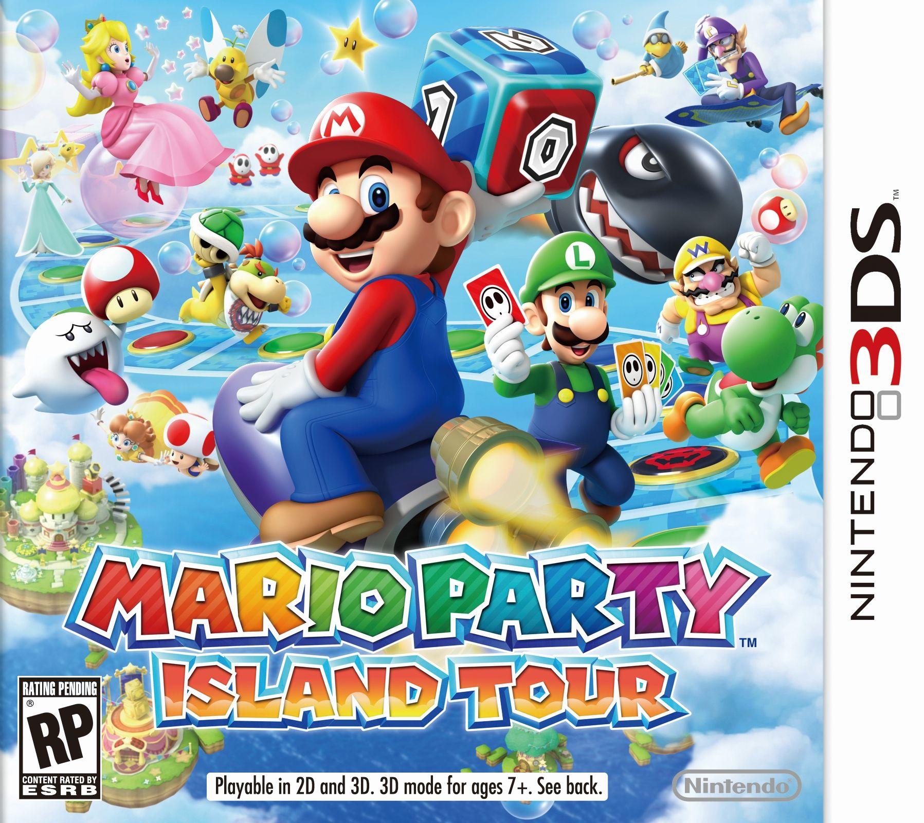 Mario Party Island Tour Para Nintendo 3ds 81 Minijuegos Con Infinitas Horas De Diversión Compatible Con 3ds Y Juegos De Mario Party Nintendo 3ds Nintendo