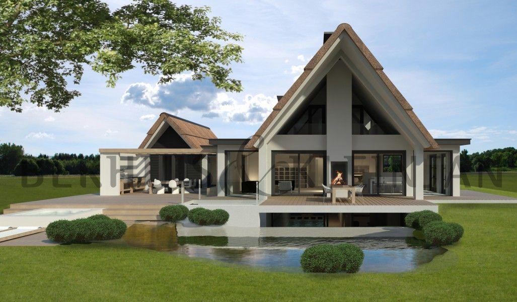 Landelijke moderne woning - Chalet ontwikkeling ...