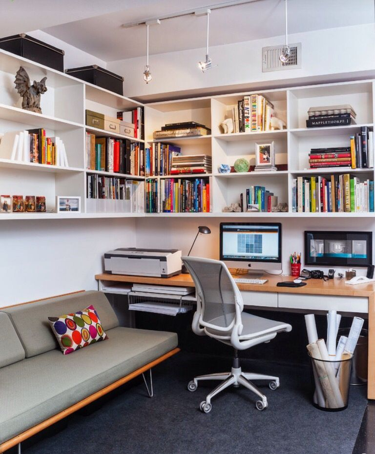 Productivity Boosting Study Room Ideas: 71+ Beautiful Home Office Design Ideas That Makes You
