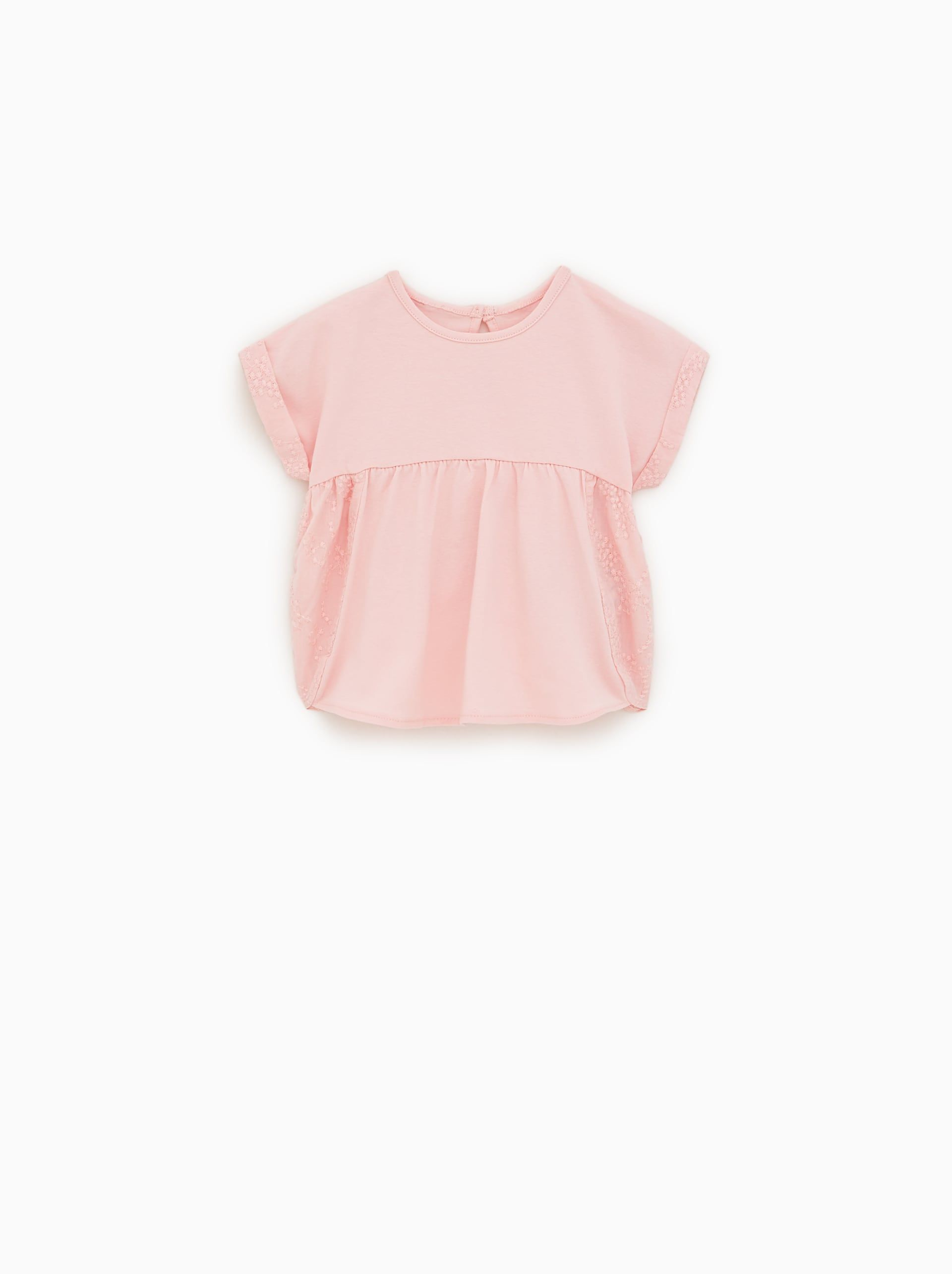 7c6bee26 EMBROIDERED T - SHIRT-NEW IN-BABY GIRL | 3 mth - 4 yrs-KIDS | ZARA United  States