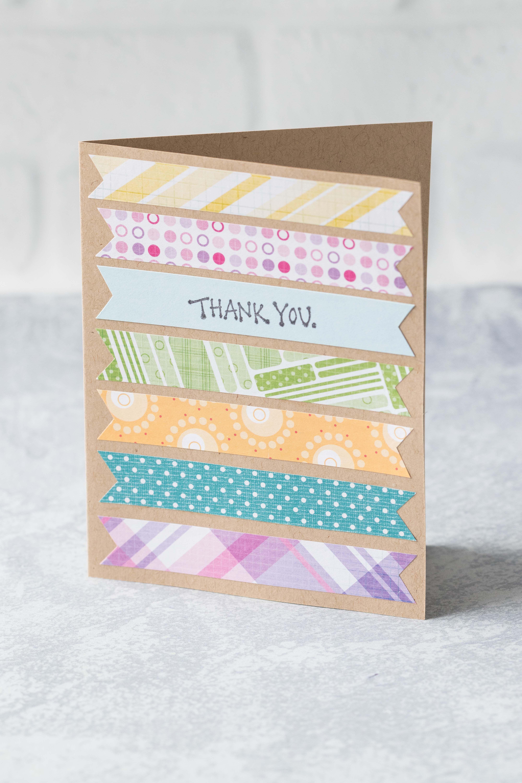 10 Simple Diy Thank You Cards Diy Cards Thank You Simple Birthday Cards Cute Thank You Cards